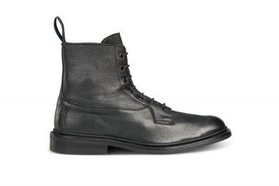 Burford Plain Derby Boot - Olivvia Deerskin