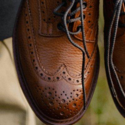 Anatomy of a Tricker's Shoe